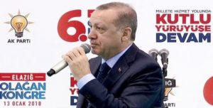 Cumhurbaşkanı Recep Tayyip Erdoğan ;Yarın gerekiyorsa 3 bin teröristi daha imha ederiz