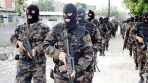 Polis Özel Harekât (PÖH) Afrin yolunda