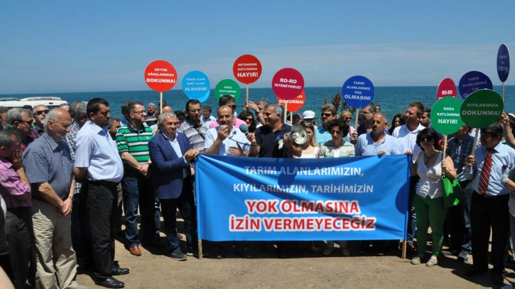 Mudanya'daki Ketendere RO-RO Projesini 1.İdare Mahkemesi İptal  İptal Etti !