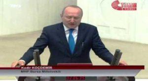 Kadir Koçdemir'den şok açıklama ; Hukuka ve yargıya güven yerlerde sürünmektedir