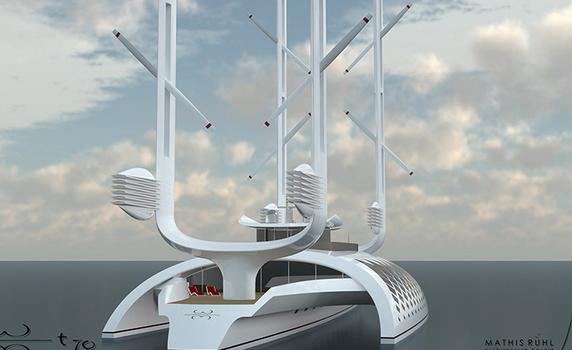 Rüzgar Enerjisi  İle  Çalışan  Çevre Dostu Tekne