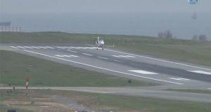 Arızalanan Ambulans Tipi Uçak Trabzon Havalimanı'na Acil İniş Yaptı
