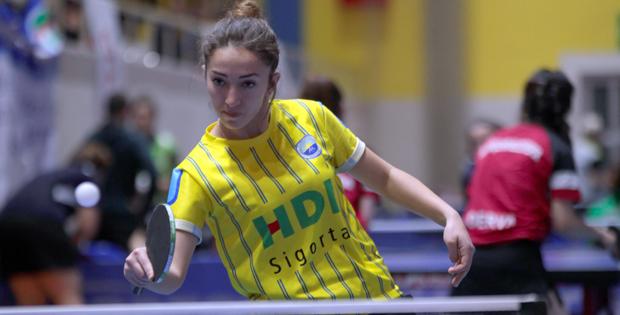 HDI Sigorta Masa Tenisi'nde Şampiyonluğa koşuyor
