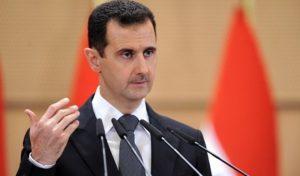 """Suriye Devlet Başkanı Esad: """"Vahşi ve Barbarca Saldırı""""."""
