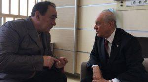 MHP Lideri Devlet Bahçeli, Alaattin Çakıcı'yı Ziyaret Etti