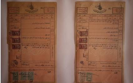 Bursa Atatürk Evi Müzesi'nin Tapusu Sergileniyor