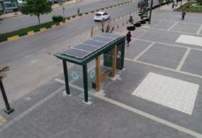 Gaziantep'te Otobüs Durakları Enerji  Üretecek !