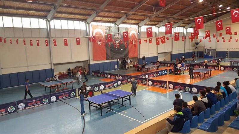 Kastamonu'nda Masa Tenisi Şenliği