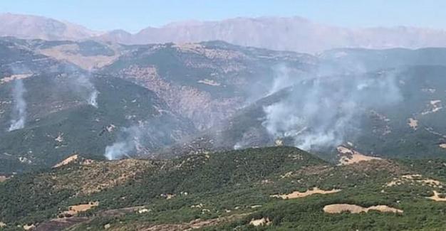 Tunceli Baro'sunun Hozat'taki Yangın İle  İlgili Basın  Açıklaması