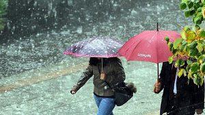 Yarından itibaren yurdun batı kesiminde yağmurlu bir hava hakim olacak