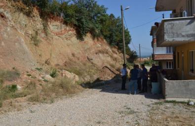 Bursa'da Heyelan Korkusuyla Yaşıyorlar