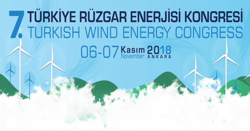 7. Türkiye Rüzgar Enerjisi Kongresi'ne Kayıtlar Başladı !