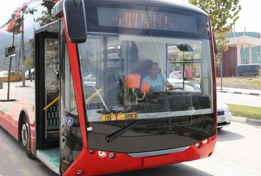 Çevreci Otobüslerin Test Sürüşleri Devam Ediyor