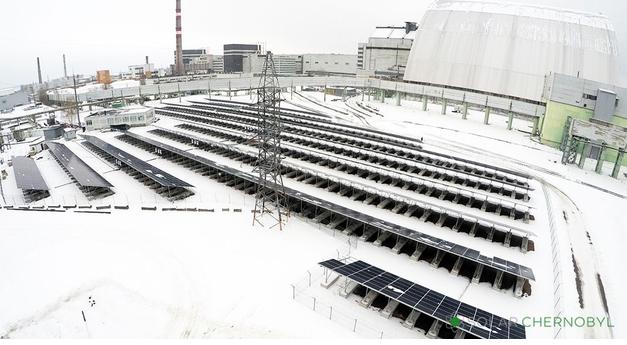 Çernobil'de de Güneş Elektriği Üretimi Başladı