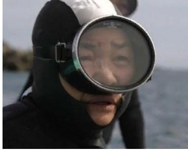 Japonya'nın balıkçı dalgıç nineleri, izleyenleri hayrete düşürüyor