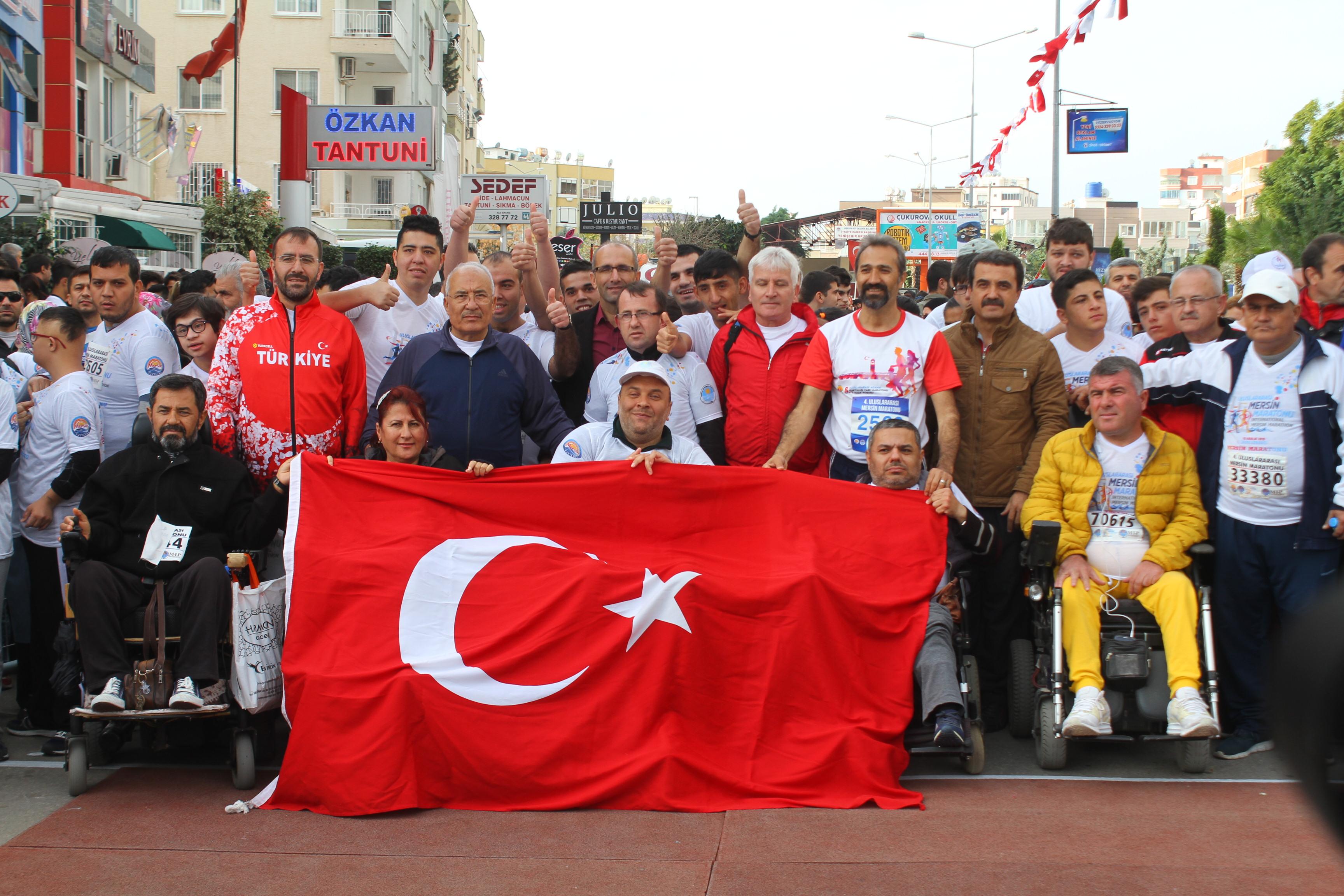 Mersin'de Maraton heyecanı yaşandı