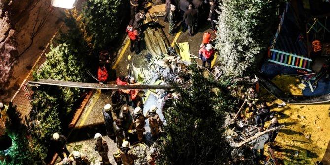 İstanbul Çekmeköy'de helikopter kazası