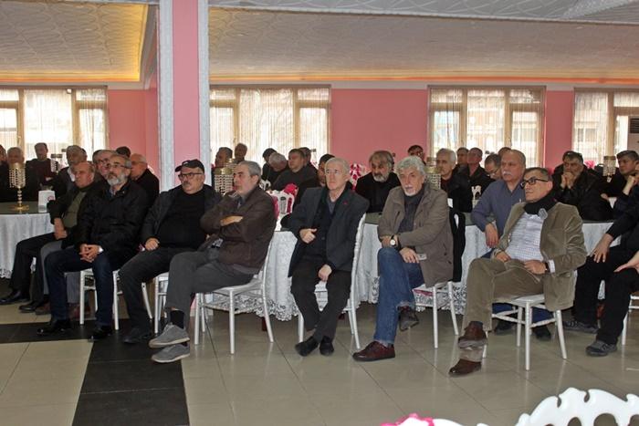 Türkiye polis emeklileri sosyal yardımlaşma derneği başkan adayı Faruk Sezer'in Bursa ziyareti