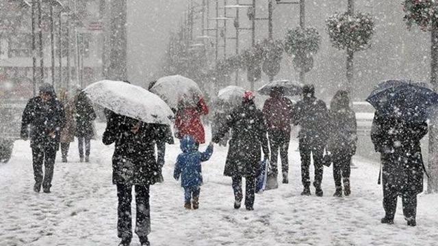 Meteoroloji'den kritik uyarı kar geliyor !