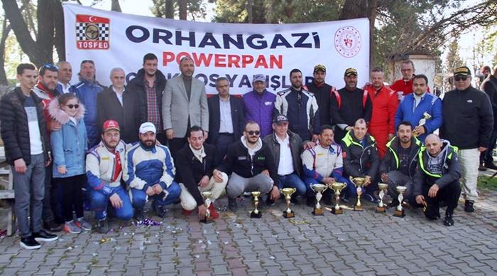 Orhangazi otokros yarışlarında muhteşem mücadele