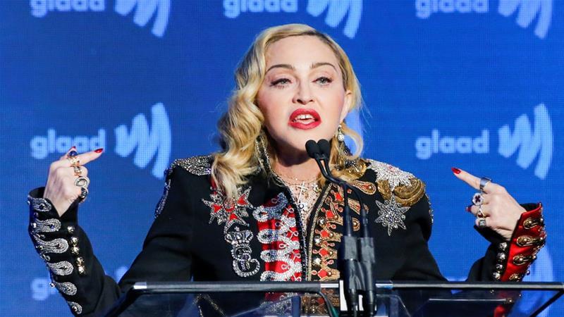 Madonna, Eurovision'u Boykot Etmeyeceğini Açıkladı