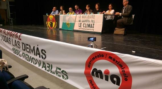 Dünya Nükleer Karşıtı Sosyal Forumu Madrid'de Toplandı