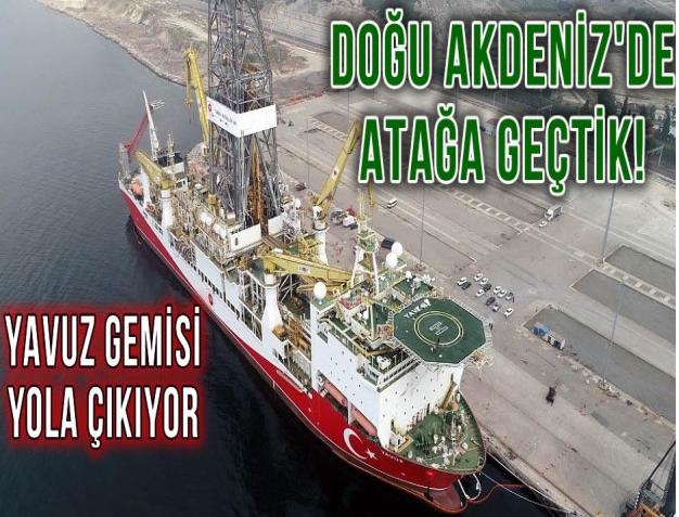 Doğu Akdeniz'de Atağa 2nci Kez Geçtik! Yavuz Gemisi  de Yola Çıkıyor !…