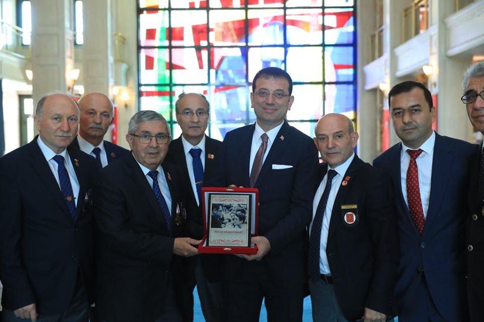 İBB Başkanı Ekrem İmamoğlu,nu Ziyaret