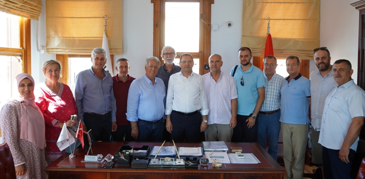 KONJIC'dan AYVALIK VE BURHANİYE'ye  Kardeşlik Köprüsü