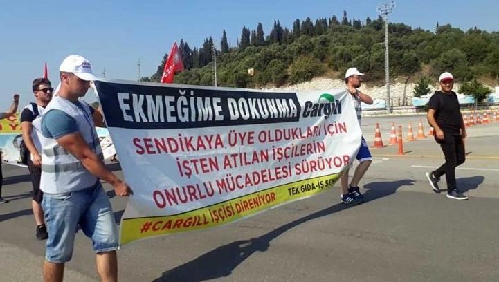 Cargill işçileri direnişlerini İstanbul'a taşıyacak: Biz bu yoldan dönmeyeceğiz