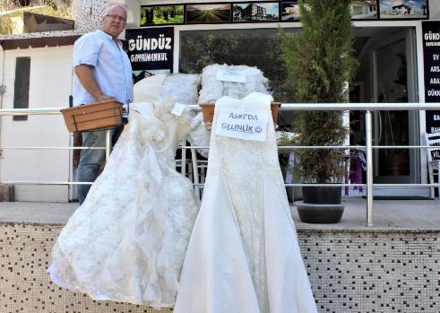 Bursa'da bu gelinlikler bedava… İhtiyaç sahipleri alabilir
