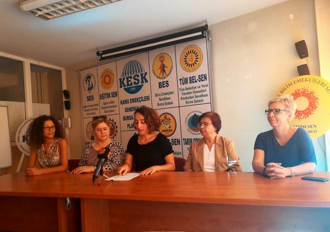 Bursa Kadın Platformu acil eyleme çağırıyor
