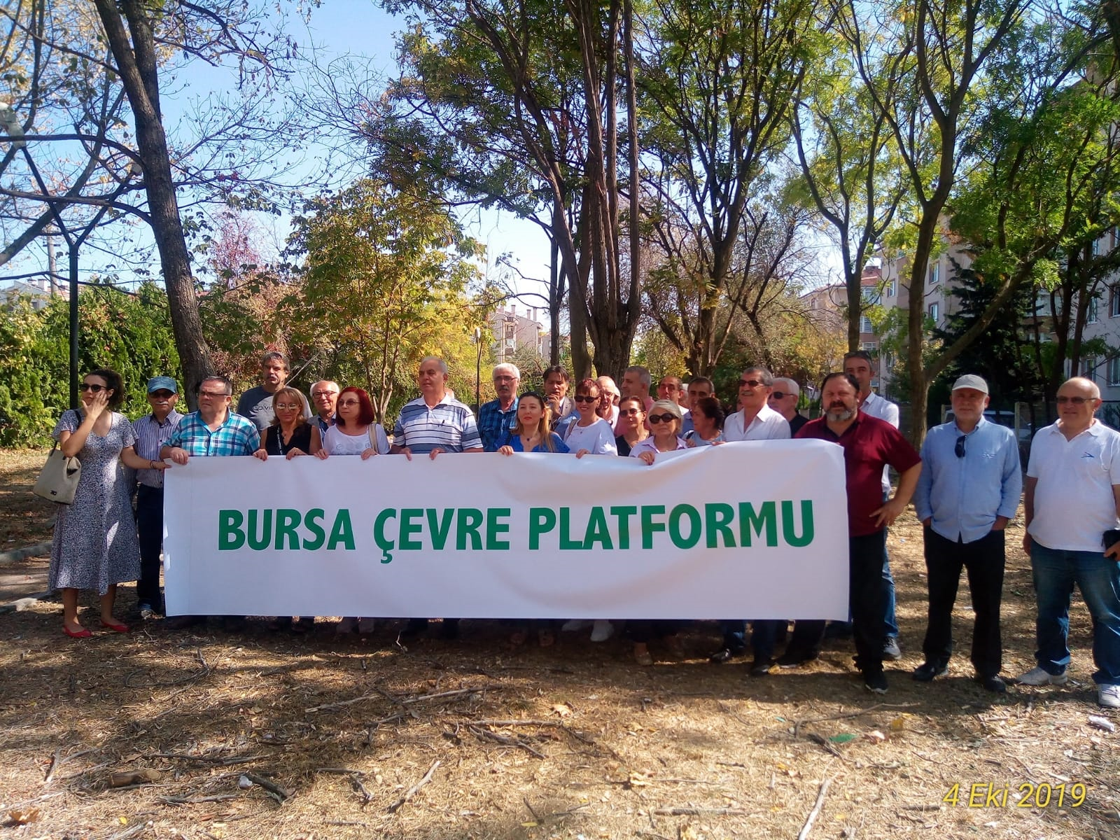 Bursa Çevre Platformunda alınan kararlar ve basın bildirisi