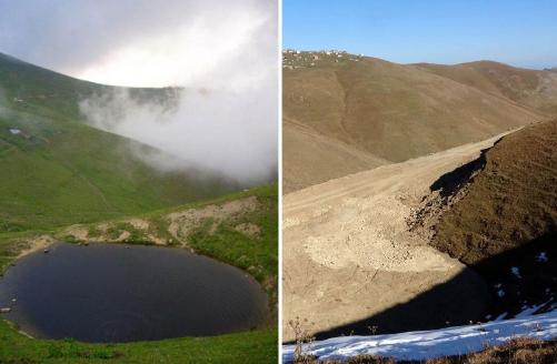 Yok edilmesine izin verilen Dipsiz Göl doğal sit alanı ilan edilecek