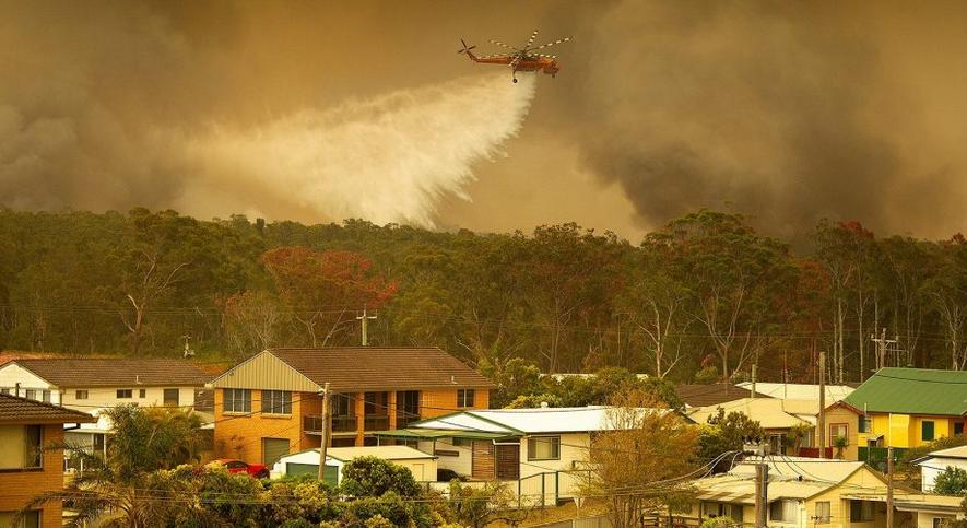 İklim Krizi, Avustralya'daki Yangınlar ve Azalan Yağışlar