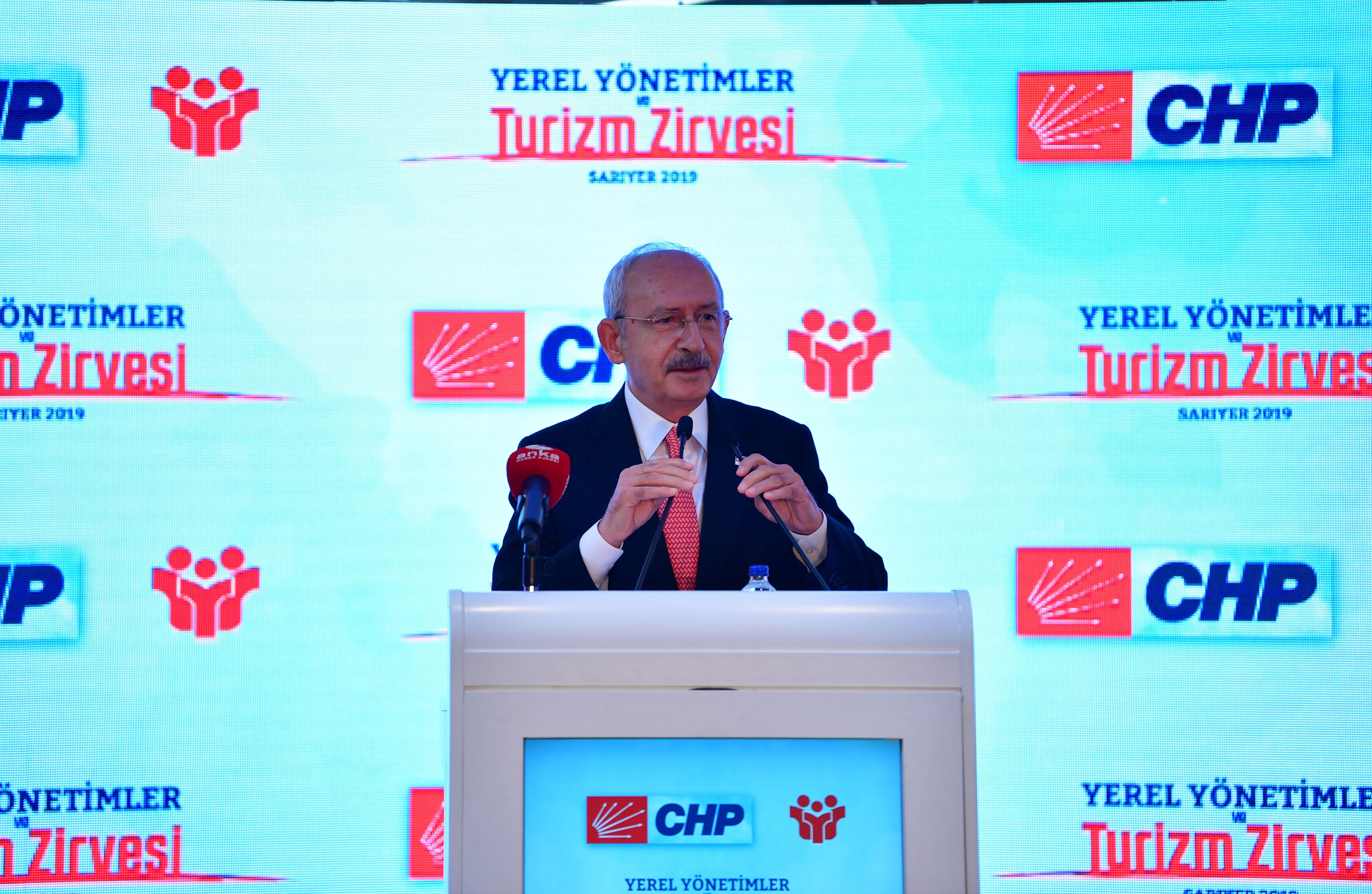 CHP'den Turizm zirvesi