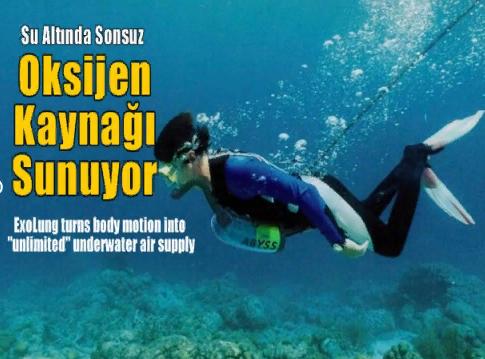 Su Altında Sonsuz Oksijen Kaynağı Sunuyor