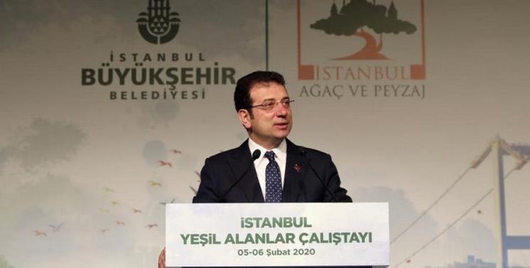 İmamoğlu: Anayasamız, yeşil alanları imara açmamak olacak