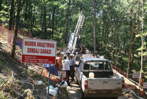 Cengiz Holding, Kaz Dağını da kazmaya başladı