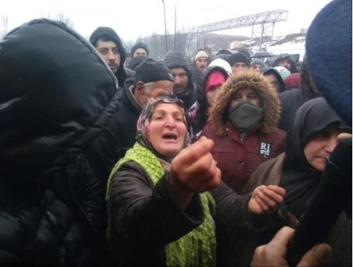 Ordu İlküvez halkı çöp tesisine karşı direniyor