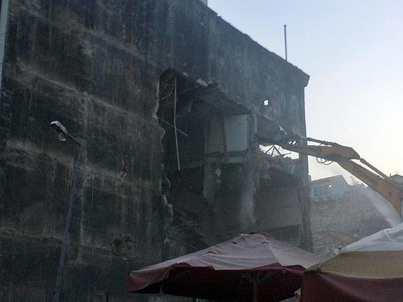 Bursa'da hanlar bölgesi yıkımında mahdur olan vatandaşın sesi