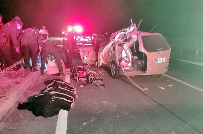 Karanlık isim trafik kazasında öldü