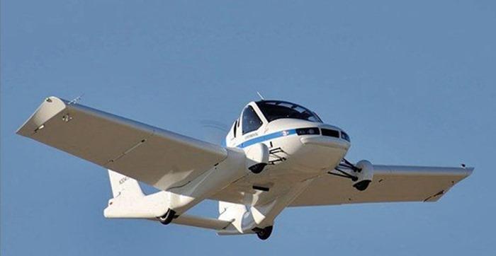 Dünya'da Onaylanan İlk Uçan Otomobil