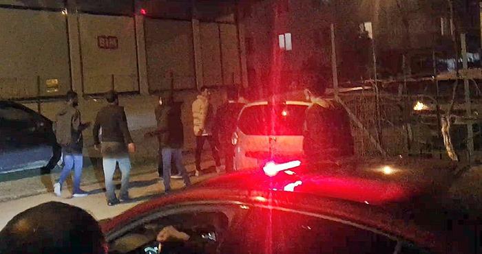 Bursa Emek'te Polis hava'ya uyarı ateşi açtı